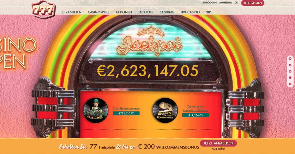 777 casino auszahlungsdauer