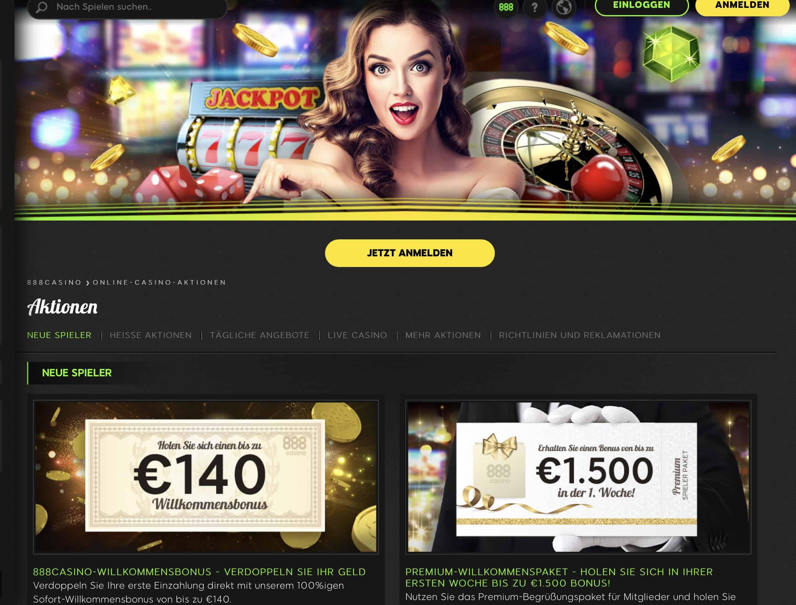 888 Casino Adventskalender