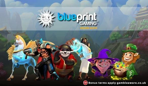 Blueprint Gaming Online Casinos und Spielautomaten