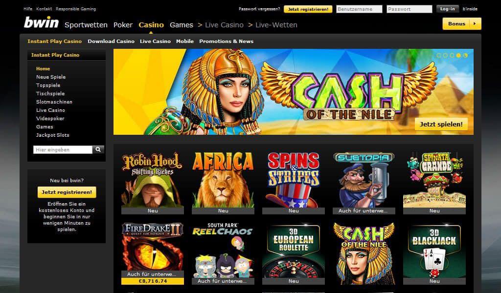 Bwin Casino Anmeldung
