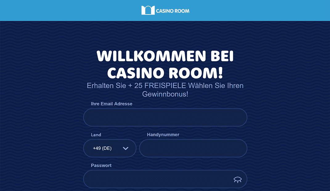 Casino Room Anmeldung