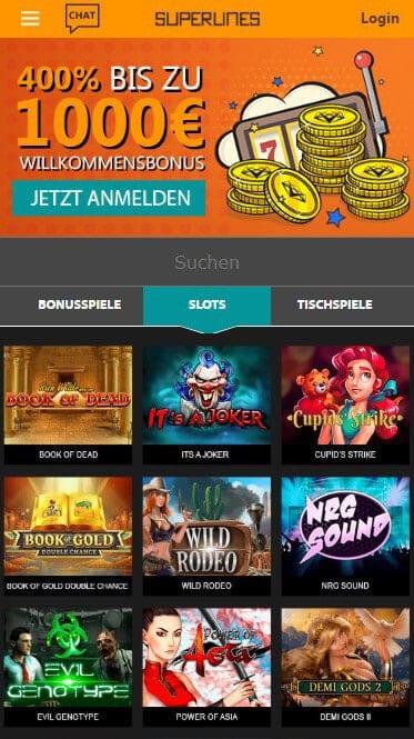 Casino Superlines Casino – Erfahrungen & Testbericht 2020