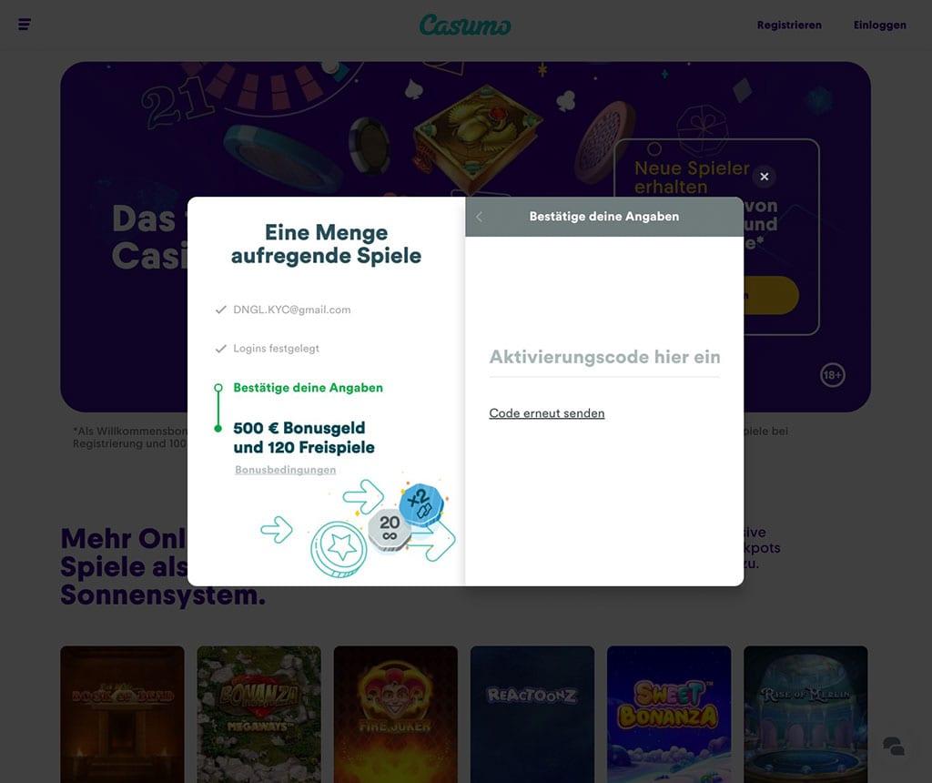 Casumo Casino Anmelden