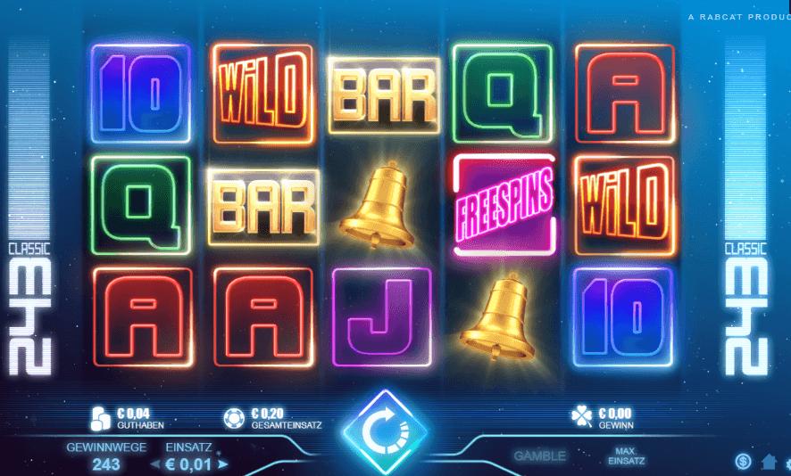 Classic 243 Slot Spielbeschreibung – Tipps, Tricks & Regeln