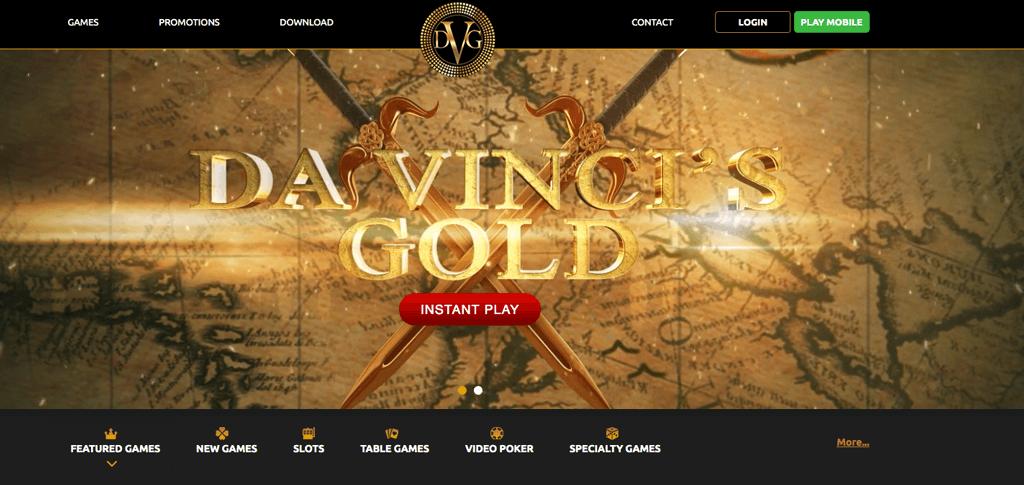 Da Vincis Gold Casino – Erfahrungen & Testbericht 2020