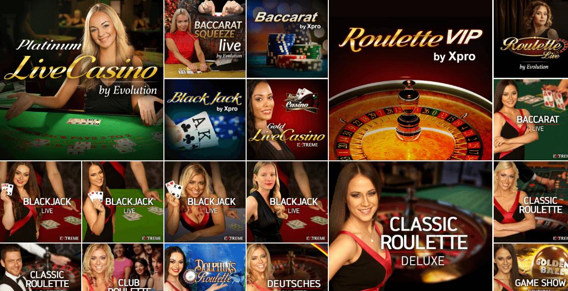 Drückglück Live Casino – Erfahrungen und Test 2018