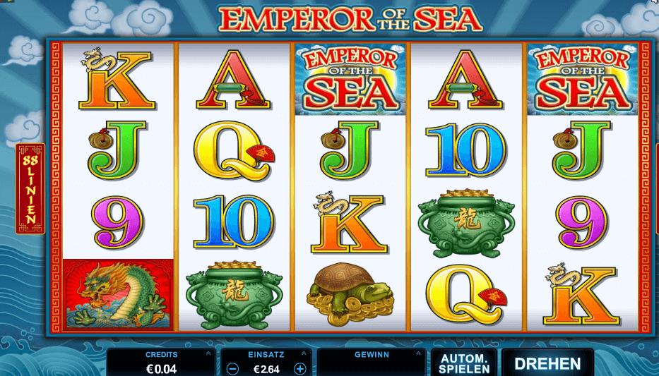 Emperor of the Sea Slot Spielbeschreibung – Tipps, Tricks & Regeln