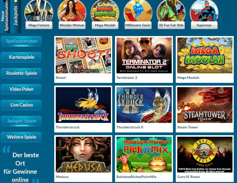 EU Casino Anmeldung