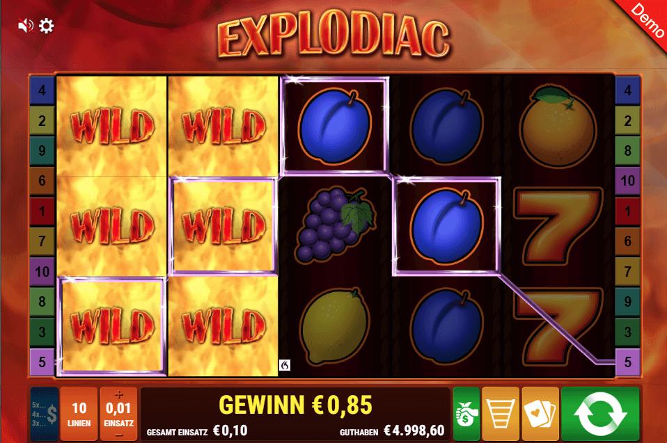 Explodiac Online Casinos & mit Bonus spielen – unsere Tipps