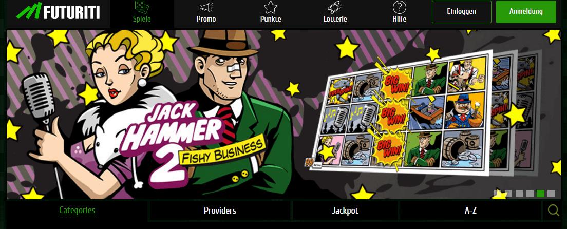 Futuriti Casino Anmeldung