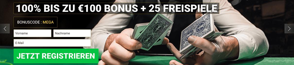 Mega Casino Anmeldung