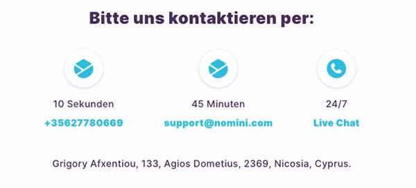 Nomini Casino – Erfahrungen & Testbericht2020