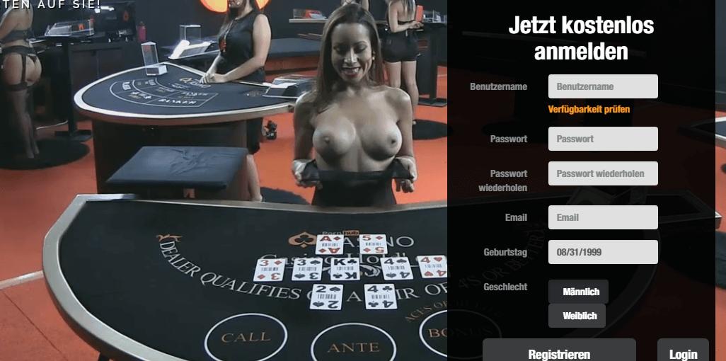 Pornhub Casino Einzahlung und Auszahlung