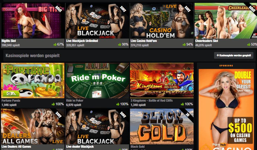 Pornhub Casino Erfahrungen und Testbericht
