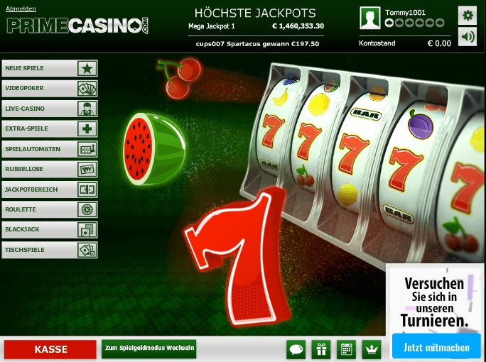 Prime Casino Erfahrungen & Testbericht