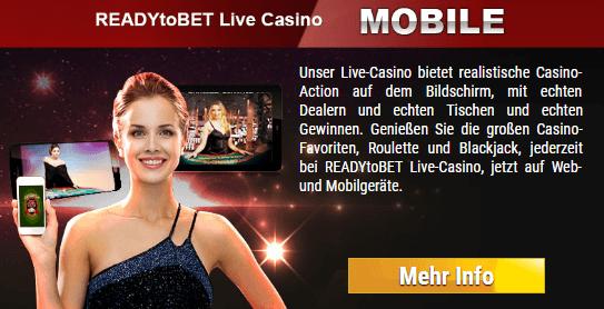 ReadyToBet Casino App