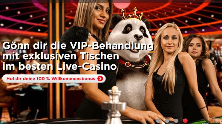 Royal Panda Casino Erfahrungen & Testbericht
