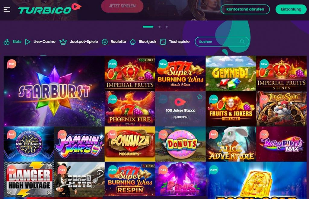 Turbico Casino – Erfahrungen & Testbericht 2020