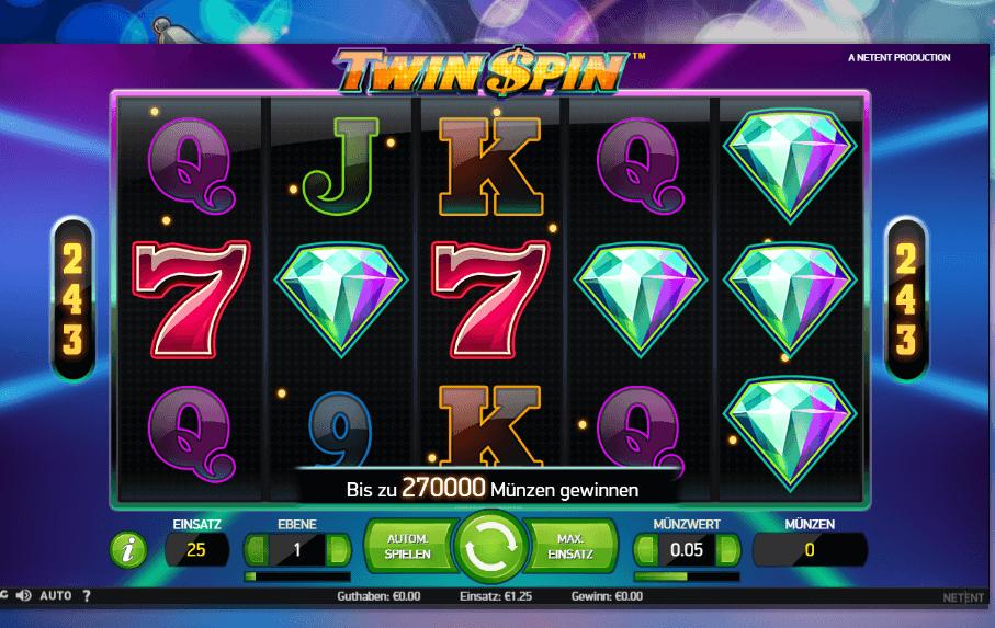 Twin Spin Slot Spielbeschreibung – Tipps, Tricks & Regeln