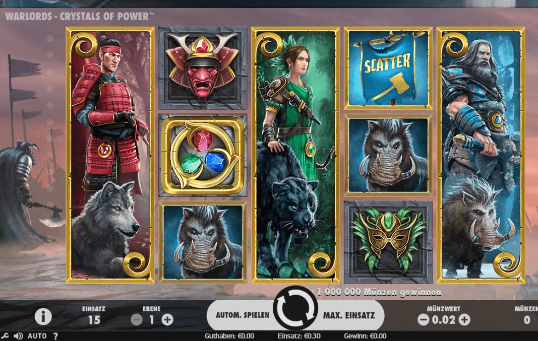 Warlords Crystals of Power Slot Spielbeschreibung – Tipps, Tricks & Regeln
