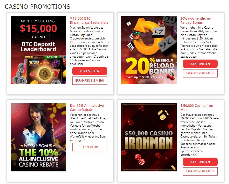 BetOnline Casino – Erfahrungen & Testbericht 2020