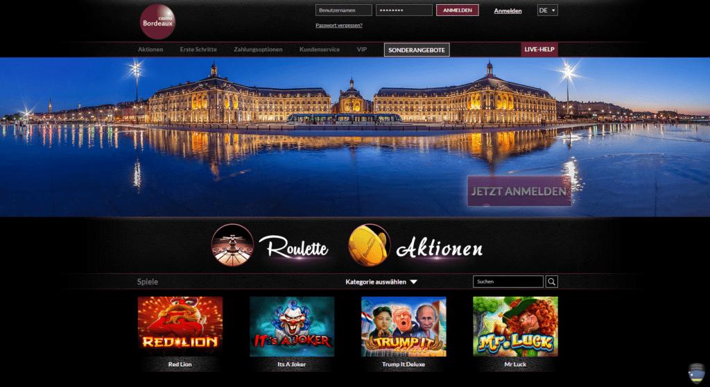Casino Bordeaux – Erfahrungen & Testbericht 2020
