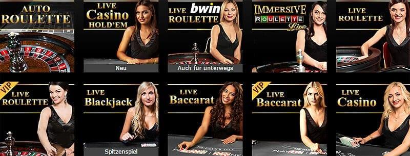 Bwin Casino Ein- und Auszahlung