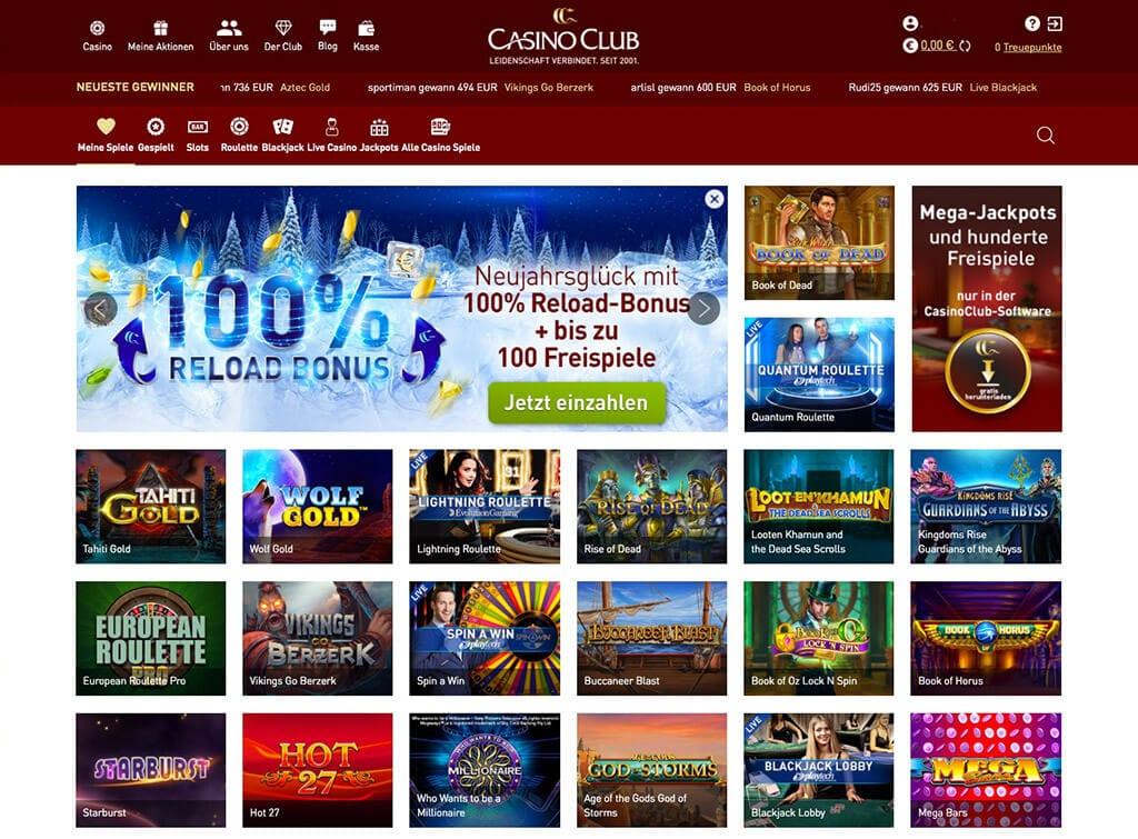 CasinoClub – Erfahrungen & Testbericht 2020