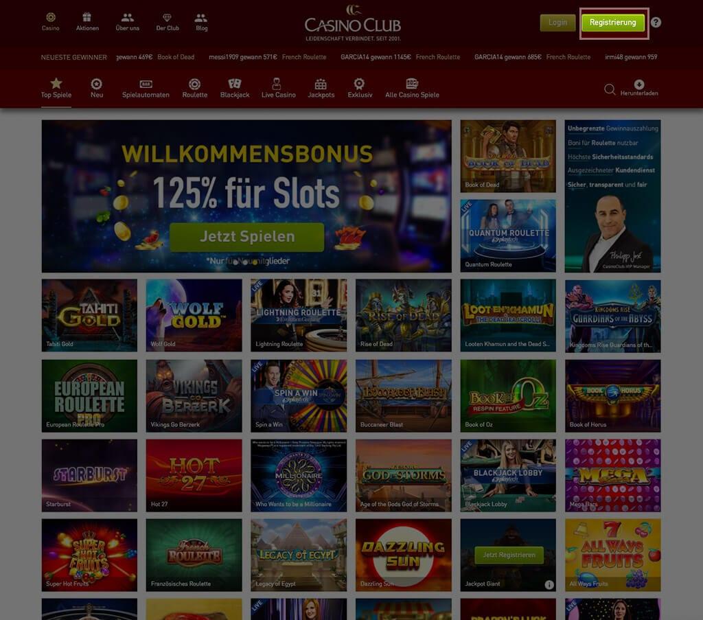 Casinoclub.Com Erfahrung