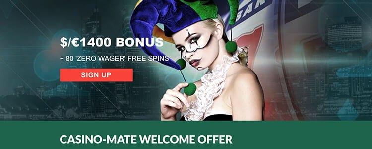 Casino Mate Bonus