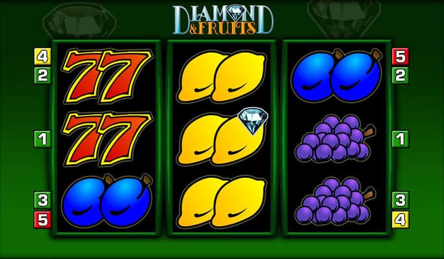 Diamond and Fruits Slot – Spielbeschreibung