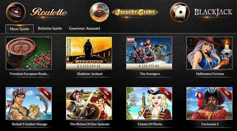 Bonus im EuroGrand Casino – 1.000 € Ersteinzahlungsbonus plus 25 Freispiele