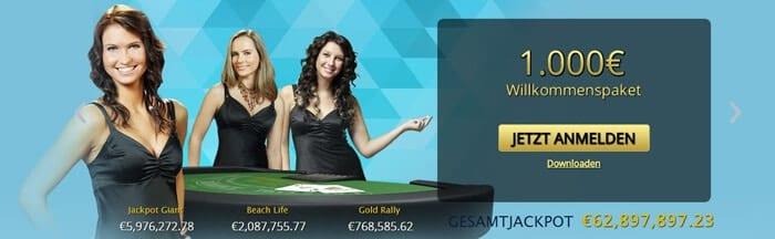Europaplay Casino Bonus