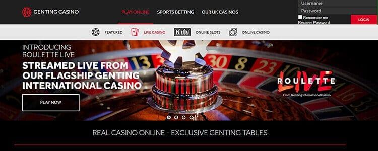 Genting Live Casino Startseite