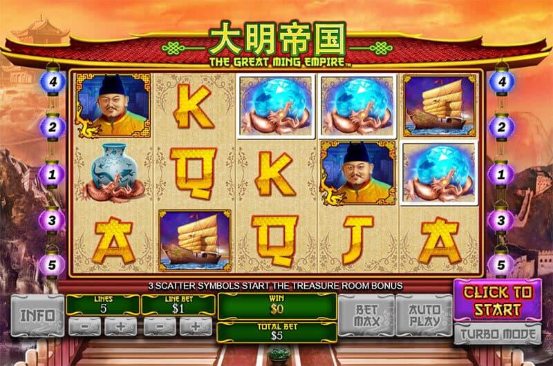 The Great Ming Empire Slot – Spielbeschreibung