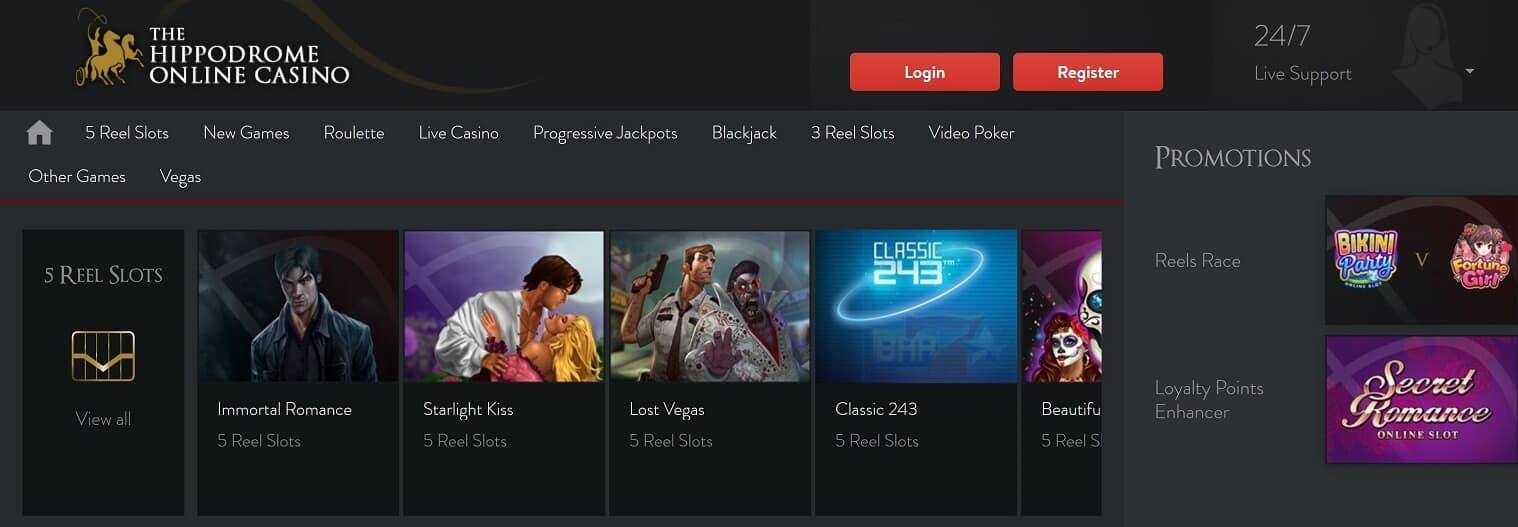 Hippodrome Casino Live Casino Erfahrungsbericht – bietet das Online Casino faire Bedingungen?