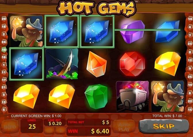 Hot Gems Slot – Spielbeschreibung