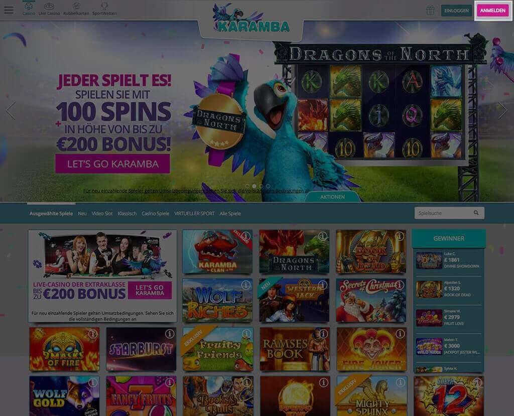 Karamba Casino Erfahrungen