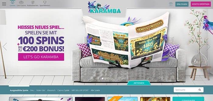 Karamba Casino Anmeldung