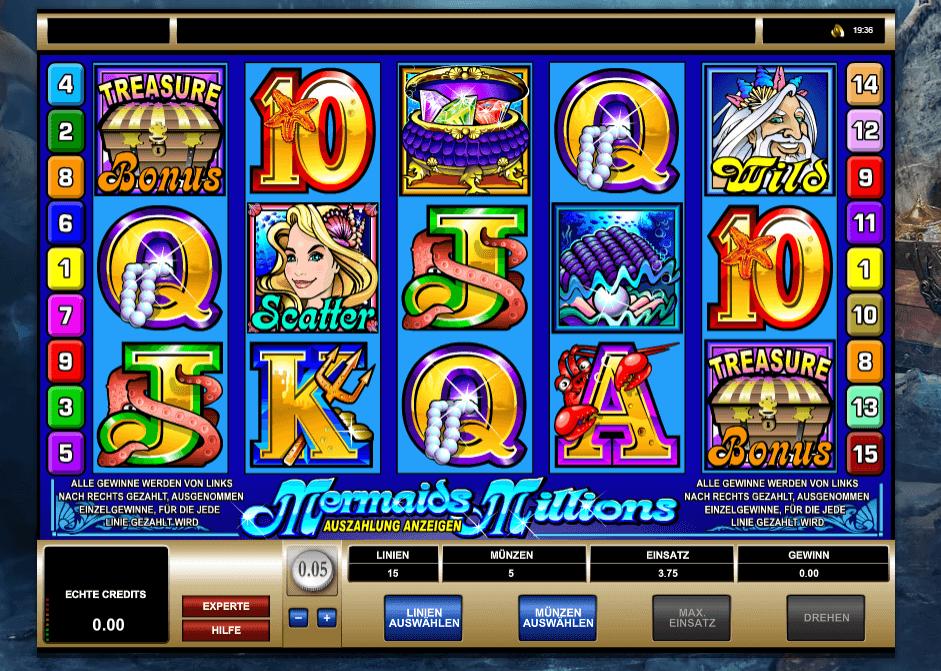 Mermaids Millions Multiplayer Slot Spielbeschreibung – Tipps, Tricks & Regeln