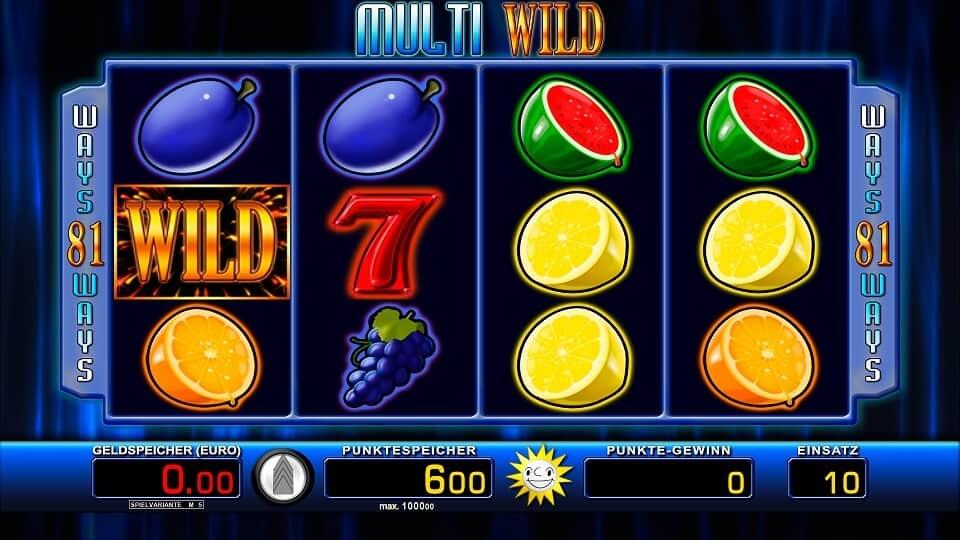 Multi Wild Slot – Spielbeschreibung