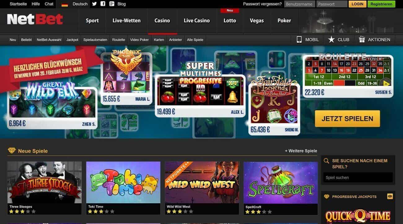 NetBet Casino Erfahrungen & Testbericht