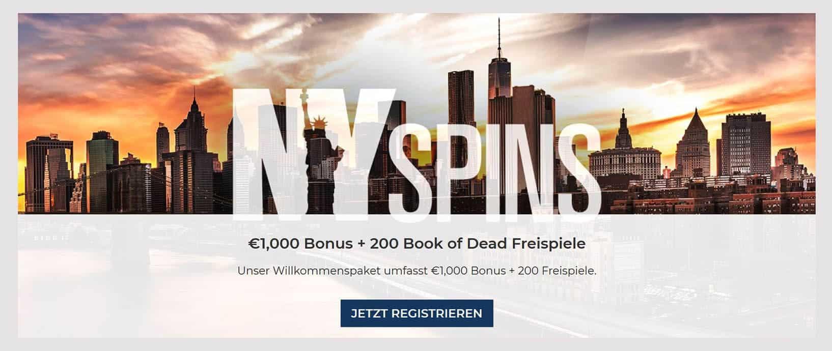 NYSpins Casino Erfahrungen und Test