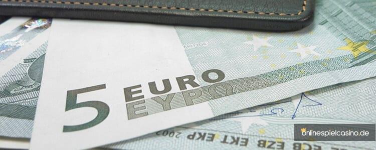 Online Casino 5 Euro Einzahlen
