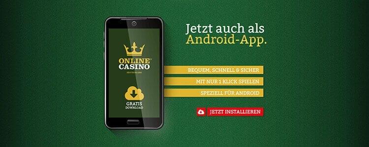 Die Onlinecasino.de App für iPhone, iPad und Android
