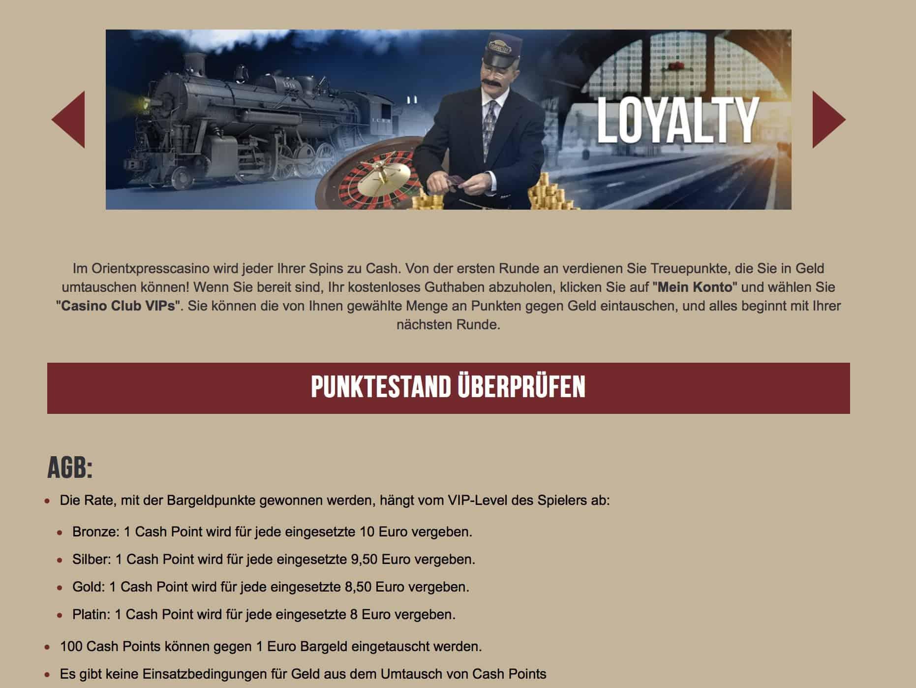 Orientxpress Casino Erfahrungen und Test