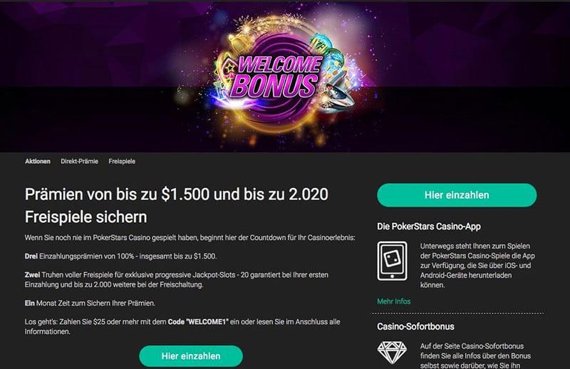 PokerStars Casino – Erfahrungen & Testbericht2020