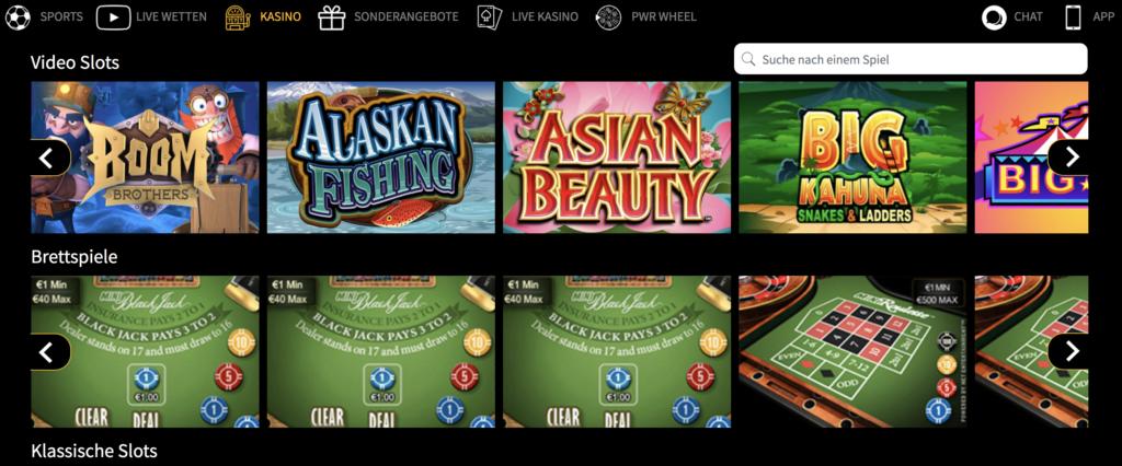 PWR.bet Casino Erfahrungen & Testbericht 2019