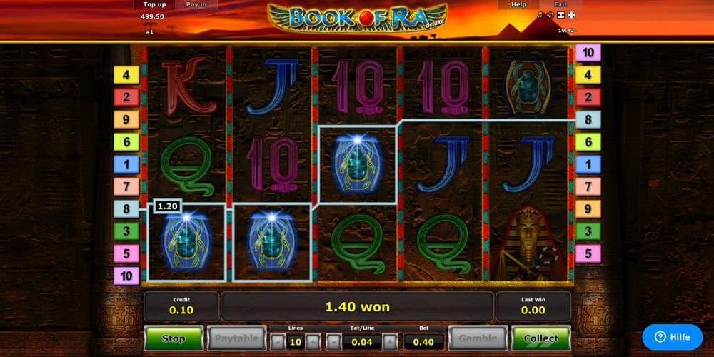 Book of Ra Slot Spielbeschreibung – Tipps, Tricks & Regeln