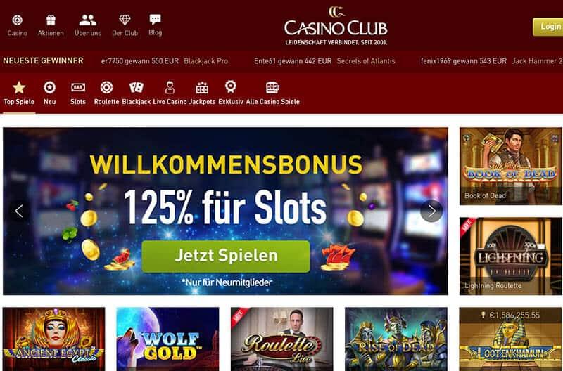 CasinoClub Account kündigen / Konto löschen